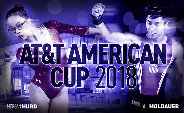Hurd, Moldauer will represent USA at 2018 AT&T American Cup