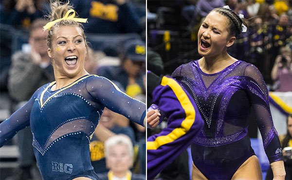 Collegiate gymnastics weekend recap - Jan. 5-7