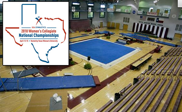 Texas Women's University will host 2018 USA Gymnastics Women's Collegiate Championships
