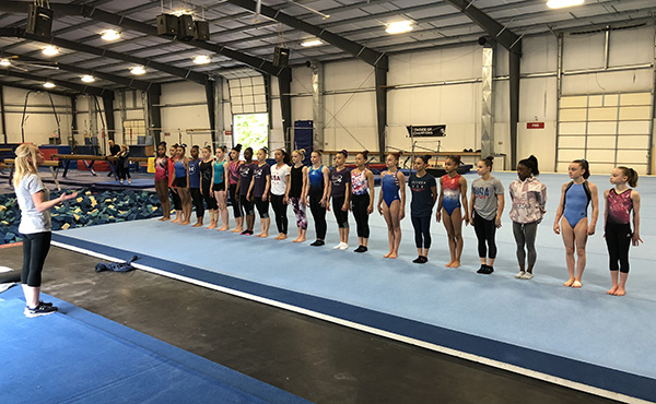 Women's National Team Camp begins today at Flip Fest