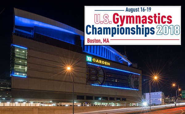 USA's best gymnasts are heading to Boston's TD Garden for the 2018 U.S. Gymnastics Championships