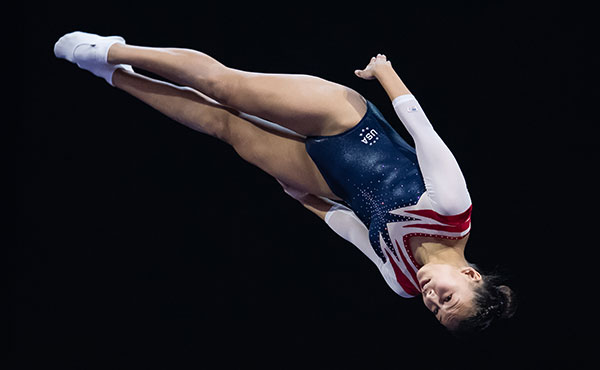 USA qualifies for women's, men's trampoline finals at 2018 Junior Pan Am Trampoline Championships