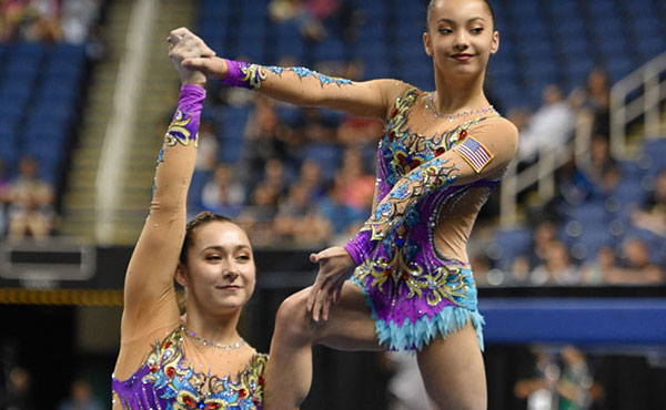 USA advances to three finals at 2019 Las Vegas Acro Cup