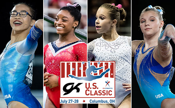 World, Olympic, U.S. champions expected to compete at 2018 GK U.S. Classic