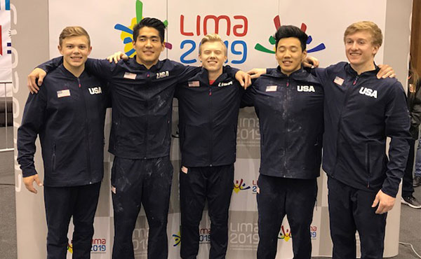Suzuki, Bock medal at 2018 Senior Pan Am Championships