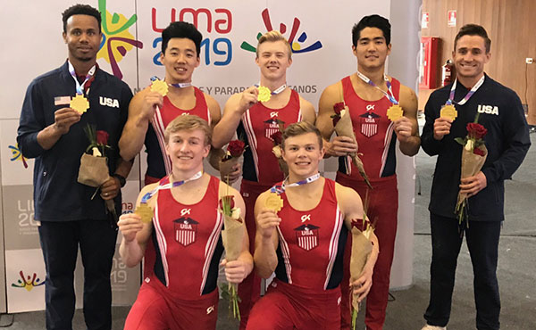 U.S. men win team title at 2018 Senior Pan Am Championships