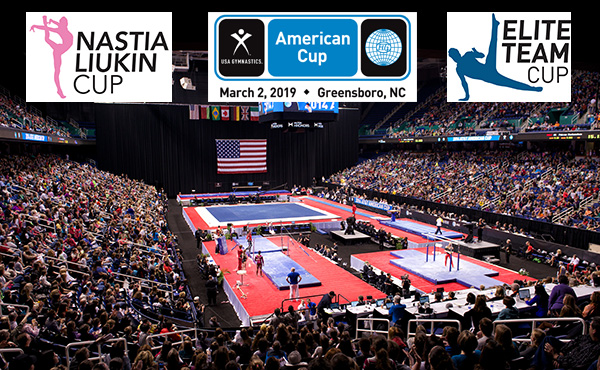 Single-session tickets go on sale Friday for gymnastics' Triple Cup weekend anchored by 2019 American Cup