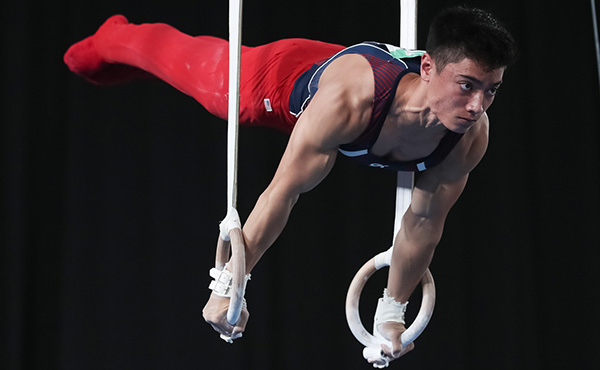 Briones finishes fourth in the all-around at Youth Olympic Games