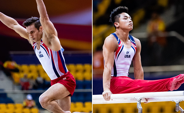 World bronze medalists Mikulak, Moldauer prep for important season ahead