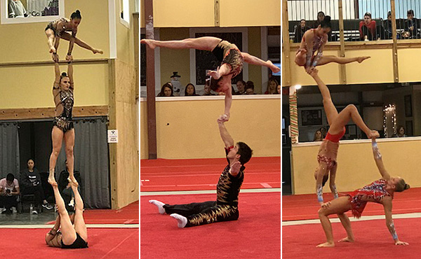 Acro's National Team Selection Competition begins today