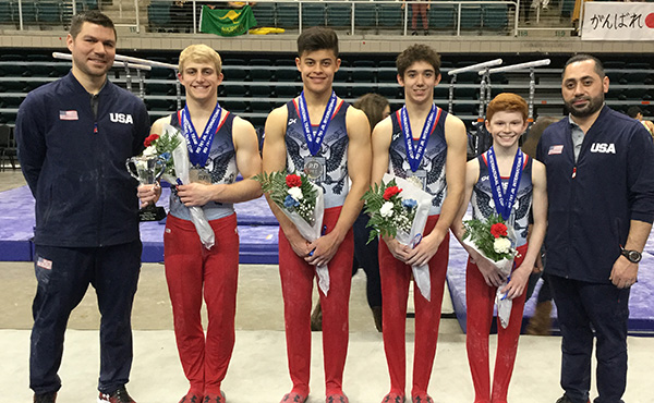USA wins team, all-around silver at 2019 RD761 Junior International Team Cup