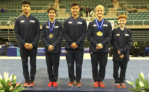 Walker, Benas bring home a total seven event medals from 2019 RD761 Junior International Team Cup