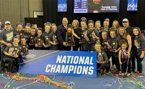 Oklahoma wins women's NCAA team title