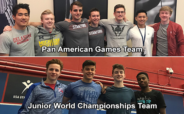 USA Gymnastics names U.S. Men's Teams for 2019 Junior World Championships, Pan American Games