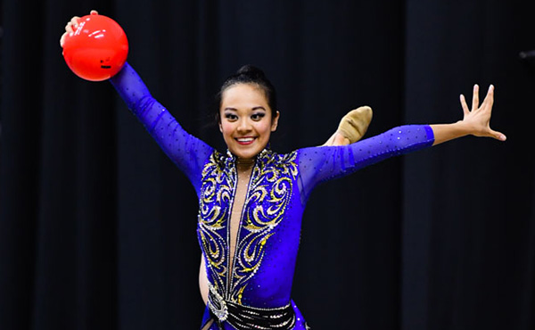Zeng finishes 12th in the all-around at the 2021 Tashkent World Cup, will compete in Sunday's hoop and ball apparatus finals