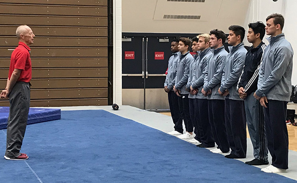 USOPTC hosts men's Level 10 Junior National Team Training Camp