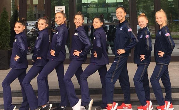 USA finishes 20th in team event at 2019 Junior Rhythmic World Championships