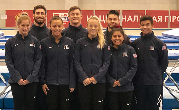 USA is competing in T&T's World Cup in Khabarovsk, Russia