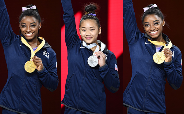 Biles rewrites record books on final day of 2019 World Championships