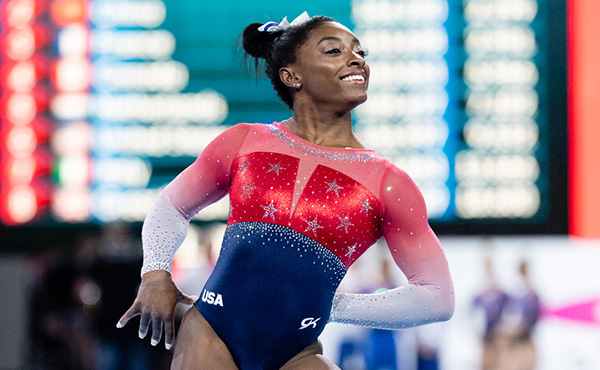 Simone Biles is a finalist for the 2019 Team USA Awards presented by Dow, Best of the Year