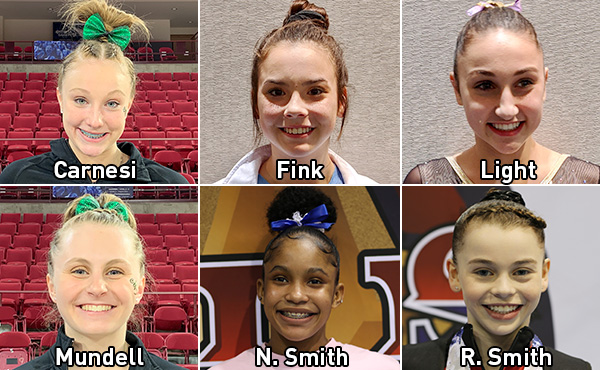 Six additional gymnasts qualify for 2020 Nastia Liukin Cup