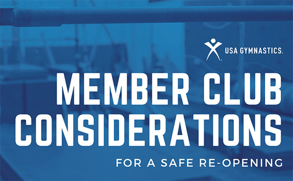 Member Club Considerations for a Safe Re-Opening