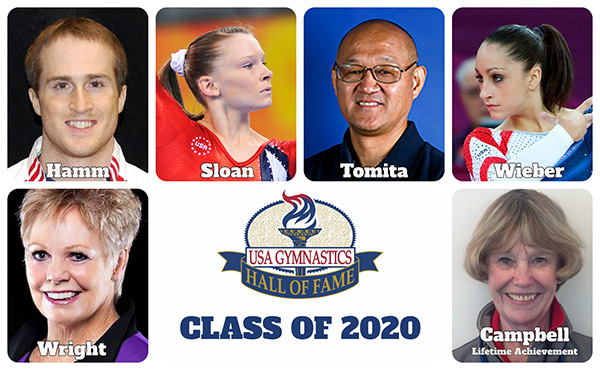 USA Gymnastics announces 2020 Hall of Fame class