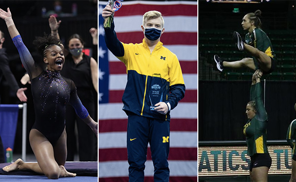 Collegiate Gymnastics Weekend Recap - Feb. 23-28, 2021