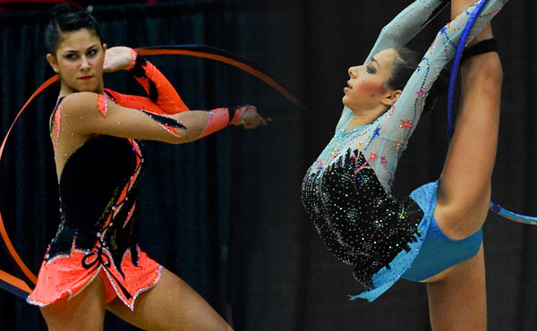 Zetlin, Sereda win all-around rhythmic titles at 2010 Visa Championships