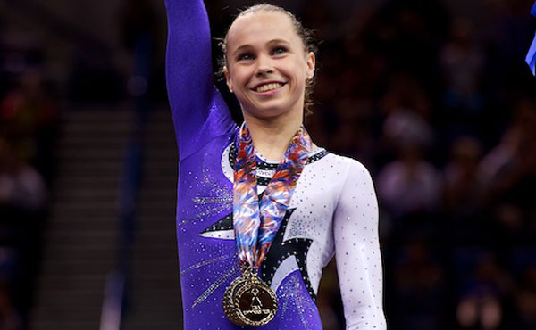 Bross wins senior women's all-around title at 2010 Visa Championships