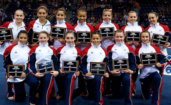 USA Gymnastics names 2010 U.S. Women's National Team