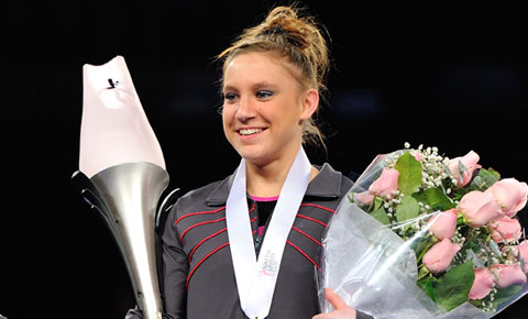 Jones seeks first-ever back-to-back Nastia Liukin Cup titles this week