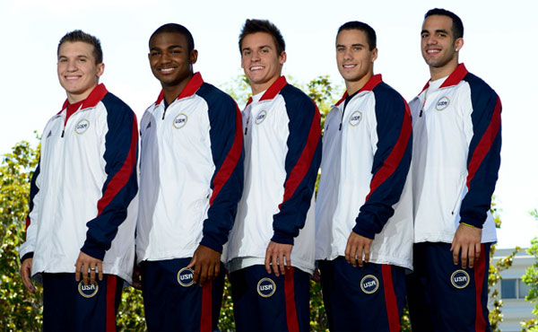 USA Gymnastics announces men's gymnastics team for 2012 Olympic Games