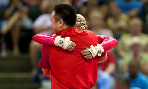 Douglas wins all-around at 2012 U.S. Olympic Trials