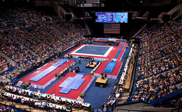 USA Gymnastics announces final competition schedule for 2013 U.S. Gymnastics Championships