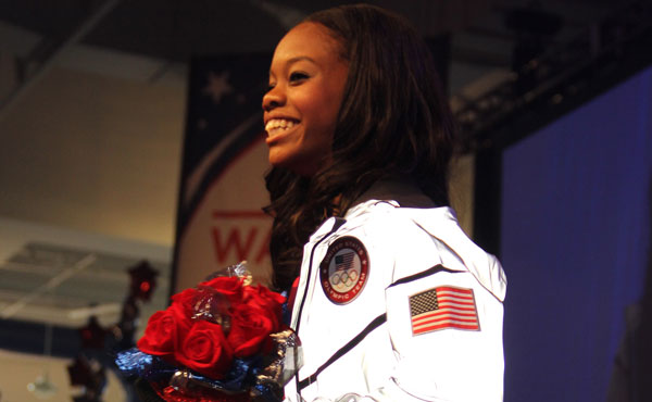 Iowa Welcomes Home Olympic Gold Medalist Gabby Douglas