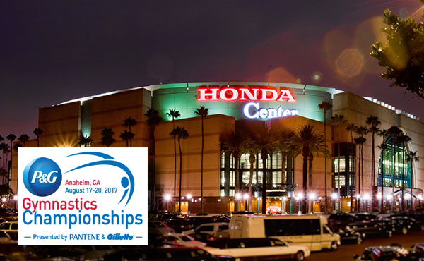 USA's best gymnasts head to Anaheim for 2017 P&G Gymnastics Championships