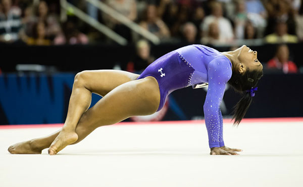 Biles tops Sports Illustrated's Fittest 50 female athlete