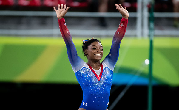 Simone Biles selected as Team USA's Closing Ceremony flag bearer for Rio 2016 Olympic Games