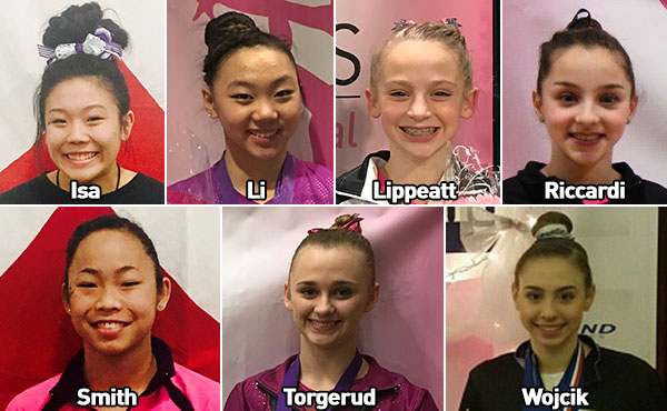 Seven qualify for Nastia Liukin Cup