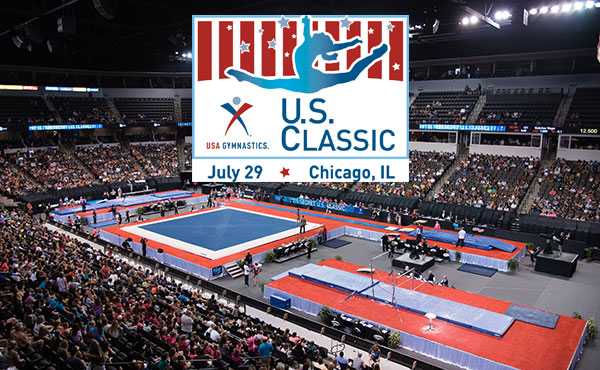 Women's gymnastics comes to Chicagoland for U.S. Classic