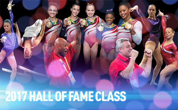 USA Gymnastics announces 2017 Hall of Fame Class