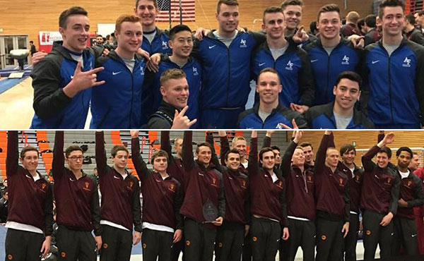 Air Force, Arizona State win team titles at USA Gymnastics Men's Collegiate Championships