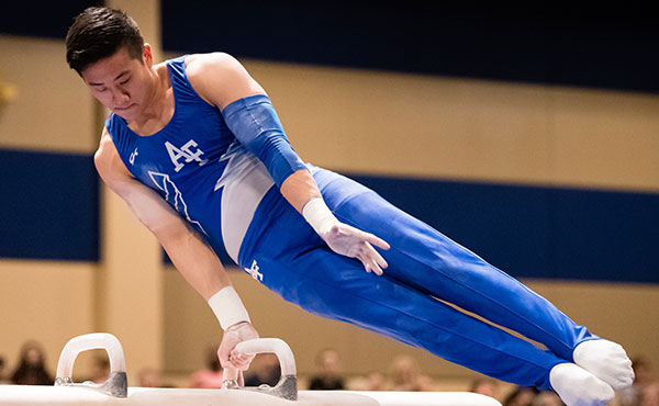 Event titles decided at the USA Gymnastics Men's Collegiate Championships