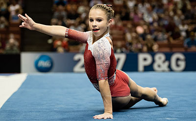 Usa Gymnastics Smith Leads Women S All Around Standings