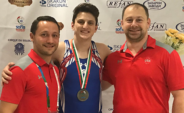 Nacey wins double-mini silver at 2017 World T&T Championships
